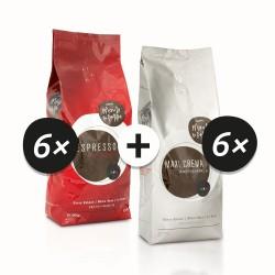 Espresso & Maxi Crema (6+6 kg)